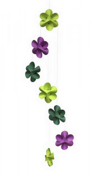 Mobile-Blumen Mobile,lime_green_purpl-227197-1