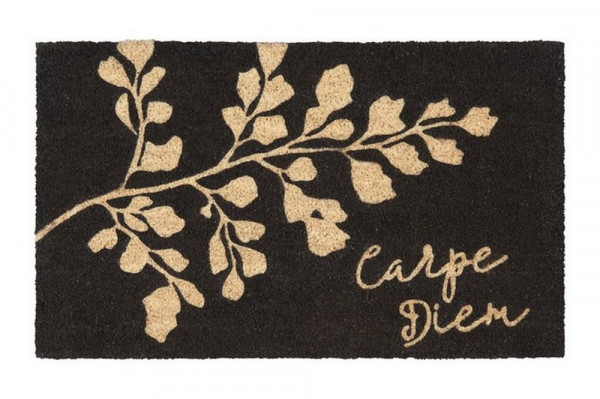 Fußmatte-Carpe Diem, schwarz-226977_20-1