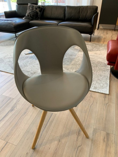 Tonon _ Up Chair-Lederarmlehnstuhl drehbar-220404-1