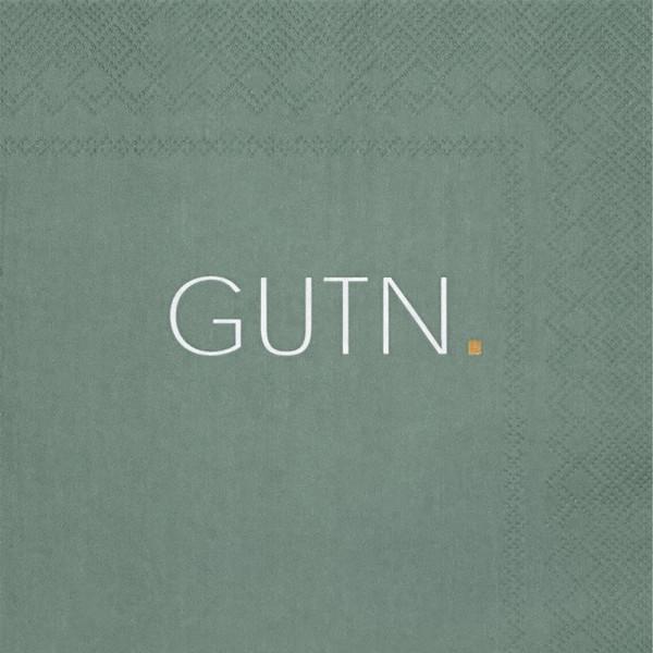 Poesie et Table-Serviette Gutn, grün-230038-1