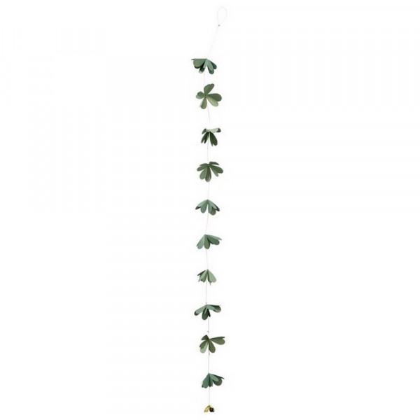 Papierkette-Papierkette Glücksklee,groß-230797-1