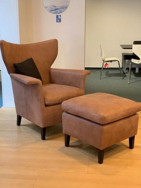 Machalke William-Sessel mit Hocker-220512-1