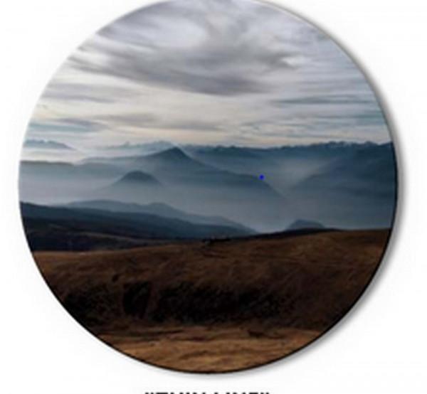 Thin Line-Circle Art Rundbild-227007-1