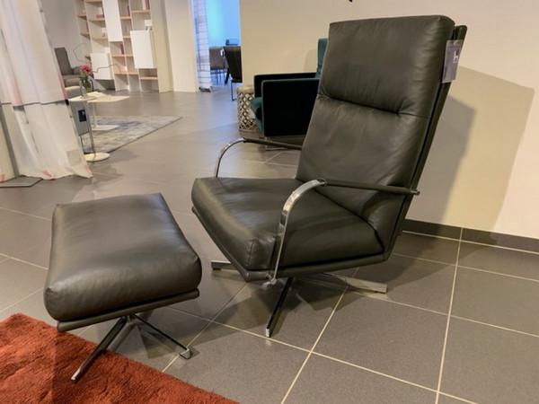 SIGNET _ Gin-Hoher Sessel mit Hocker-218064-1