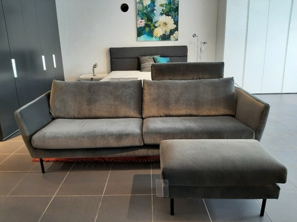 Contur Parenti-Sofa 3-sitzig mit Hocker-227502-1
