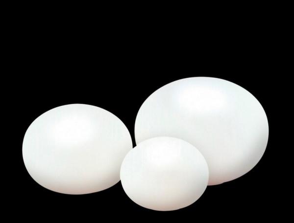 Glas Oval-Tischleuchte Glas oval, weiss-25018_1-1