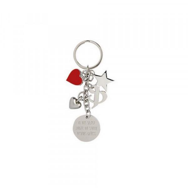 Schlüsselanhänger-Sterne unseres Glücks,silber-228982-1