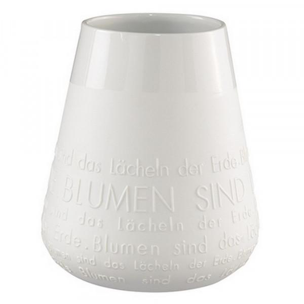 Vase- Poesie Vase, LÄCHELN-220178-1