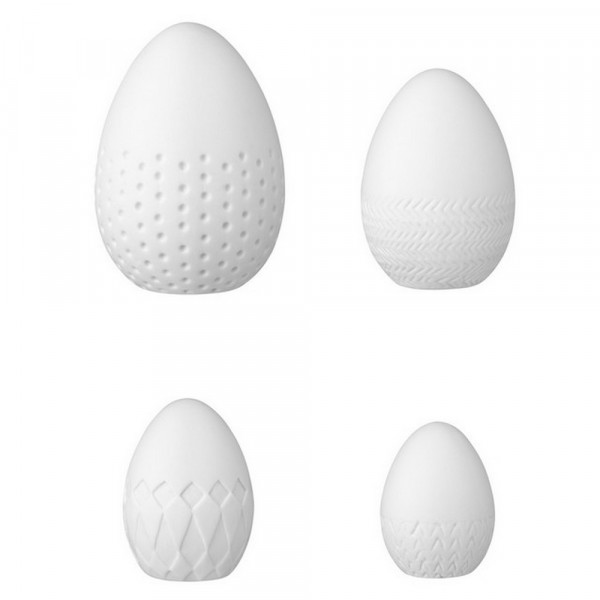 Ostereier-Keramikeier, 4er Set-226348-1