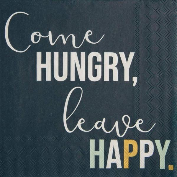 Serviette-Come hungry, leave happy-228978_1-1